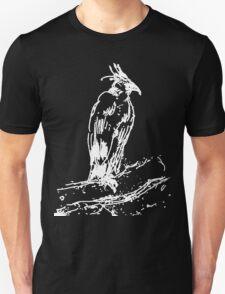 Black Eagle Sketch by Whistler Unisex T-Shirt