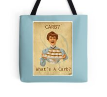 Carb Diet Funny Victorian Tote Bag