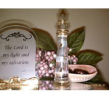 The Light of Salvation, The Lighthouse on the Hill Photographic Print