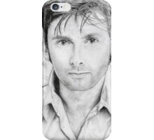 David Tennant sketch iPhone Case/Skin
