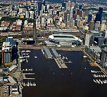 Docklands, Melbourne on a great afternoon - 2011 by haymelter