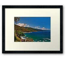 Seashores of Old Mexico Framed Print