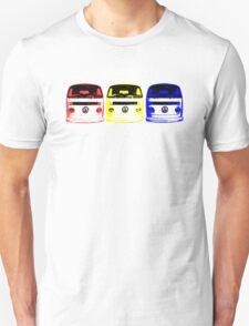 VW Kombi - Red Yellow Blue Unisex T-Shirt