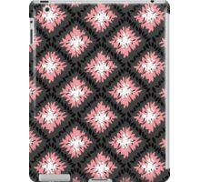 Black, Grey and Pink Retro Pattern  iPad Case/Skin