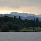 Sunset at Lake Windermere - Lake District by redscorpion