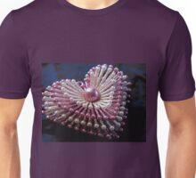 Pink Sparkly Heart Unisex T-Shirt