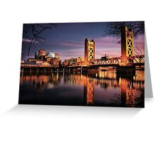 Sacramento Reflections Greeting Card
