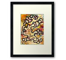 Abstract figurative Framed Print