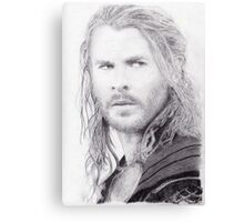 Chris Hemsworth: Thor Canvas Print