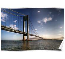 Verrazano-Narrows Bridge, New York City Poster