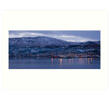 killybegs dusk Art Print