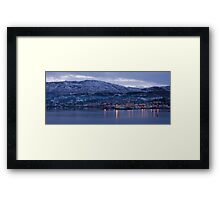 killybegs dusk Framed Print