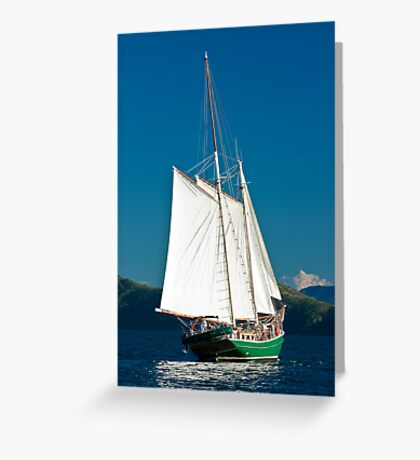 """Windjammer"" Greeting Card"
