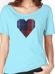 00127 American St. Andrews Societies Tartan  Women's Relaxed Fit T-Shirt