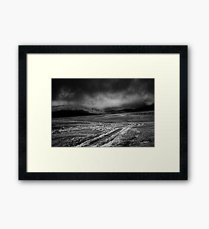 storm clouds Framed Print