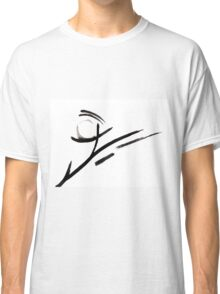 Black and White Abstract Design  Classic T-Shirt