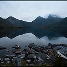 Dove Lake Reflection by Andrew Wilson