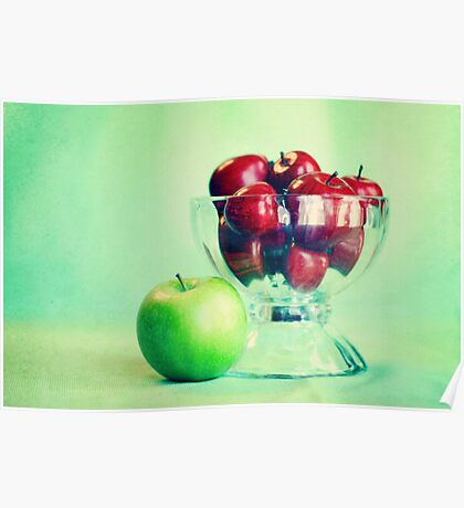 Red Apples Poster