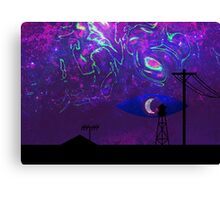 Mysterious Lights (Welcome to Night Vale) Canvas Print
