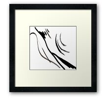 Abstract Ink Art  Framed Print