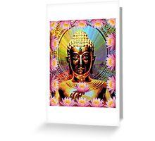 The Golden Buddha Greeting Card