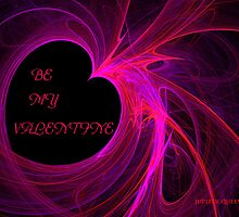 ♥ RED ♥ HEART ♥  - ♥ BE ♥ MY ♥ VALENTINE ♥ by Jupiter Queen