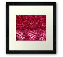 VISION OF THOUGHT ABSTRACT [1] PINK [1] Framed Print