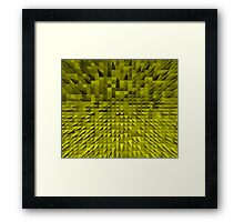 VISION OF THOUGHT ABSTRACT [1] YELLOW [1] Framed Print