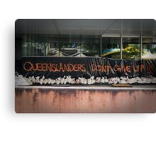 2011 Queensland Floods Canvas Print