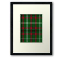 00129 Arkansas District Tartan  Framed Print