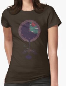 Night Falls Womens Fitted T-Shirt