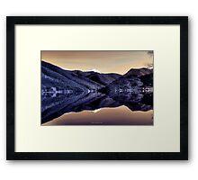 Lago di Scanno Framed Print