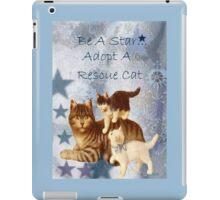 Adopt Rescue Humane Cat iPad Case/Skin