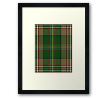 00130 Arizona District Tartan  Framed Print