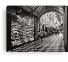 Royal Arcade Canvas Print