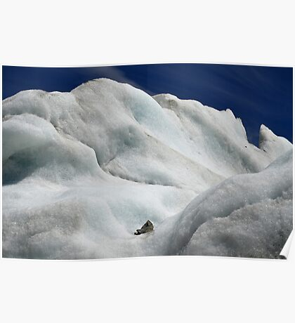 Iceberg on Lake Tasman Poster
