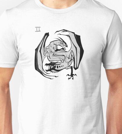 DoubleZodiac - Gemini Dragon Unisex T-Shirt