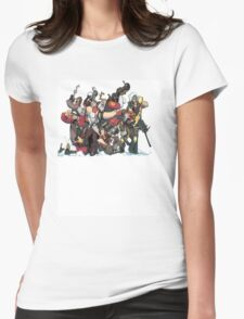 Team Fortress 2 Womens Fitted T-Shirt