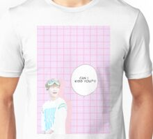 Taehyung: Pretty in Pink Unisex T-Shirt