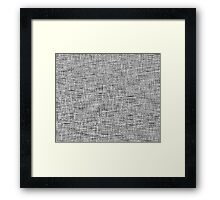 QUANTUM FIELDS ABSTRACT [4] GREY [2] Framed Print
