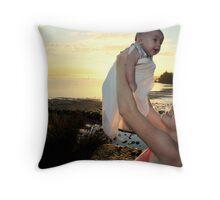 Teagan & Byron - Portfolio Shoot Throw Pillow