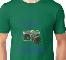Are you pleased to see me. Olympus. Unisex T-Shirt