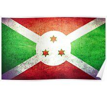 Burundi - Vintage Poster