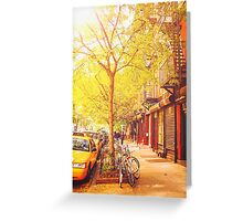 Autumn - New York City Greeting Card