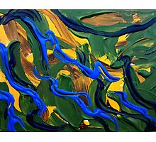 Abstract Landscape Art  Photographic Print