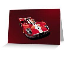 Ferrari 512 S Greeting Card
