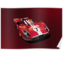 Ferrari 512 S Poster