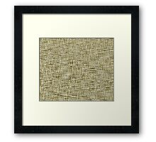 QUANTUM FIELDS ABSTRACT [4] YELLOW [2] Framed Print
