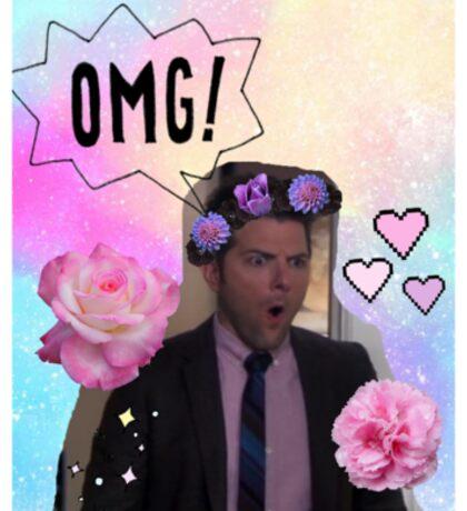 Ben Wyatt - Man of the Hour Sticker