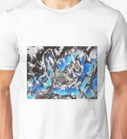 Abstract Mixed Media Art  Unisex T-Shirt